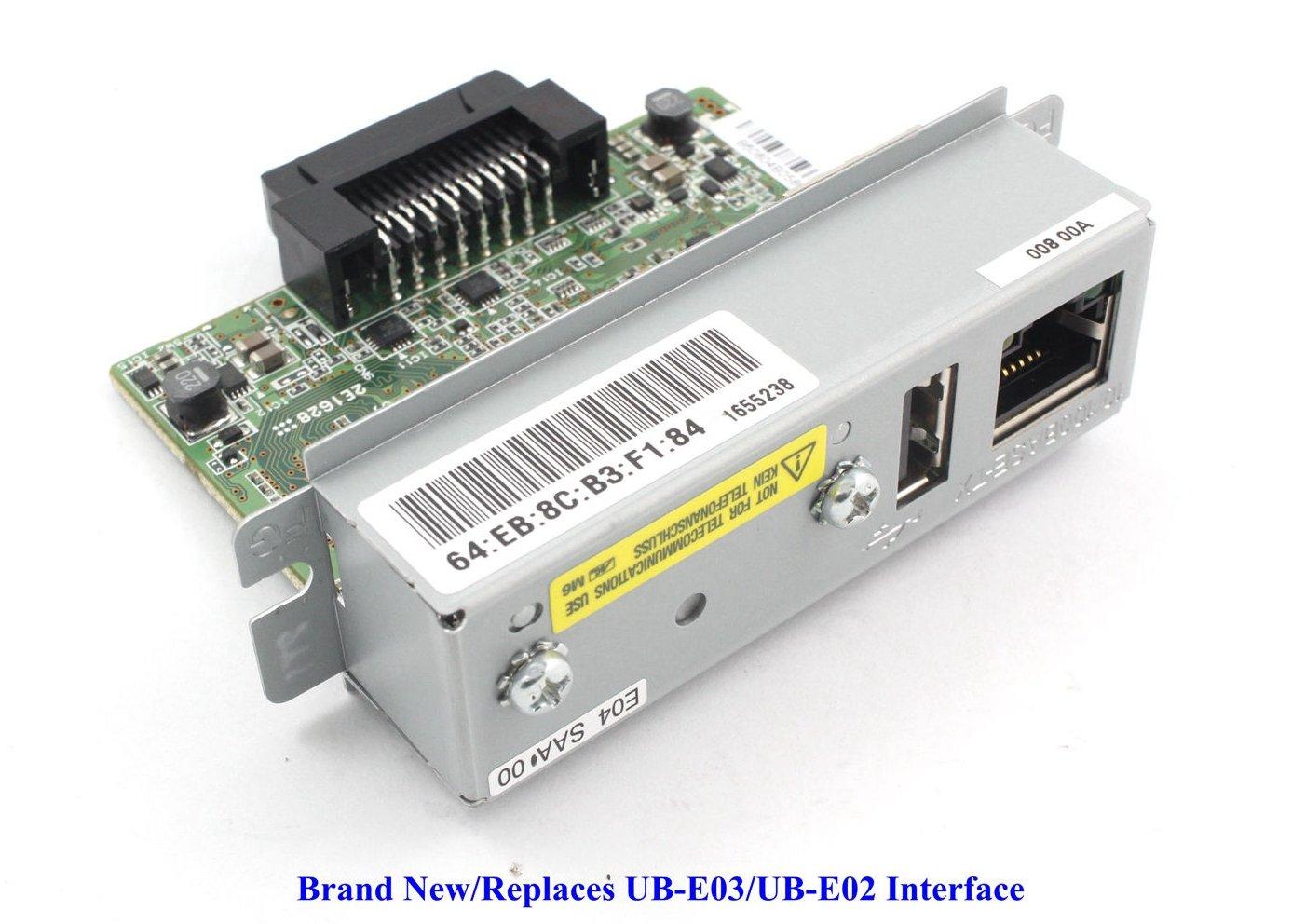 UB-E04 Ethernet Interface C32C824541 With USB For Epson TM-U220PB T81 U288 T88IV