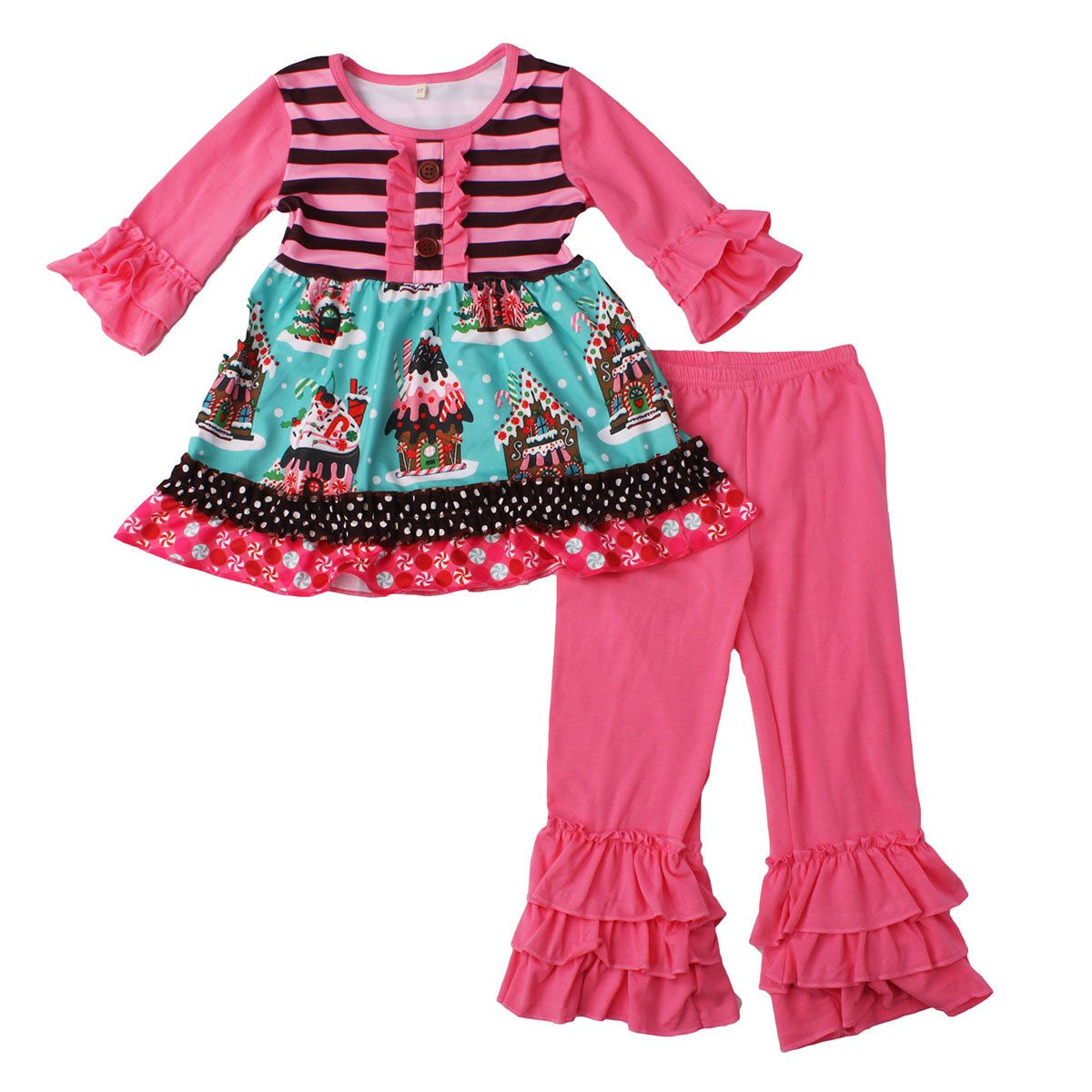 e6309f4d79 Girl boutique clothing set with fancy color and unique style, great for  Birthday/theme party, Halloween dress up, Christmas, photo shoots, ...