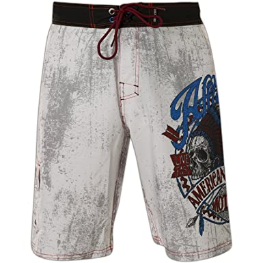 28e86d3016 Affliction AC Vision Quest Boardshorts at Amazon Men's Clothing store: