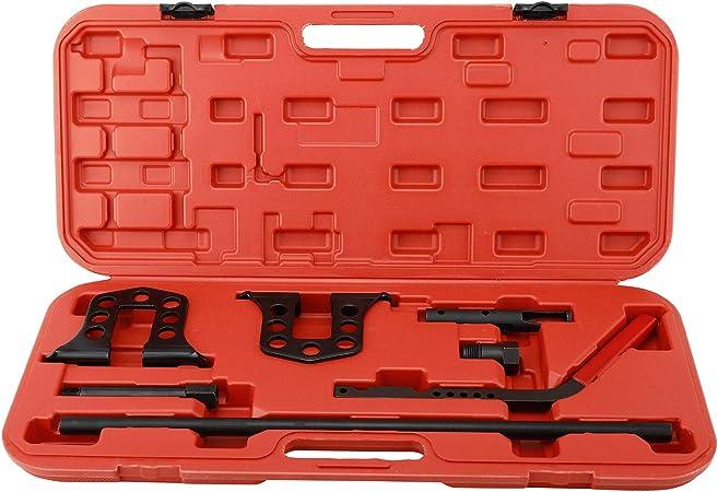 Freetec Universal Ventilfederspanner Druckluft Ventile Montage Set Ventilschaftdichtung Kfz Werkzeug Inkl Koffer Auto