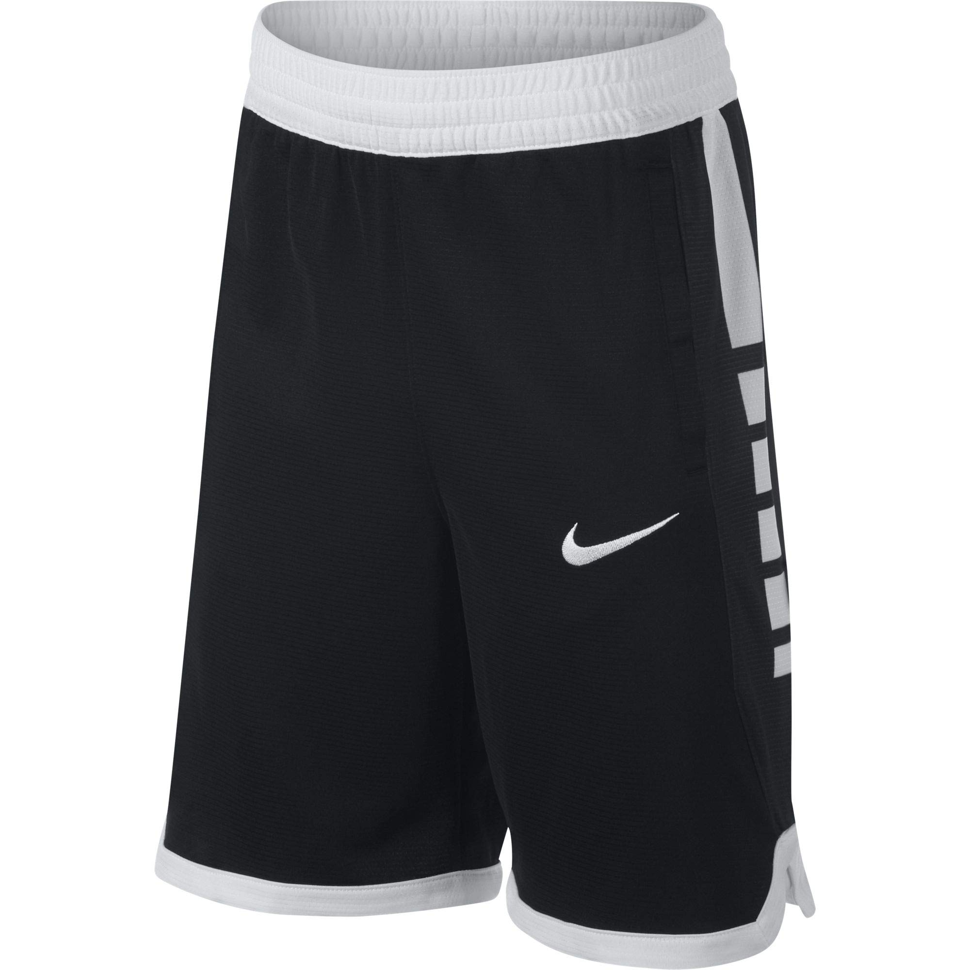 Nike Boy's Dri Fit Basketball Shorts Black/White Size Small