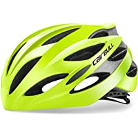 Cairbull 25 Vents Cycling Bicycle Helmet Sprots Helmet Climbing Mountain Road Bike Racing Helmet Adult for Men and Women M(54-58) cm and L(58-62) Safety Protection Helmet