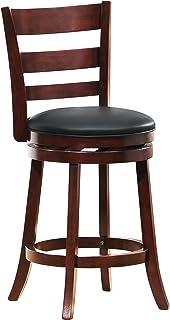 Homelegance 1144E-24S Swivel Counter Height Chair/Stool Dark Cherry  sc 1 st  Amazon.com & Amazon.com: Homelegance 1144E-29S Swivel Pub Height Chair/Stool ... islam-shia.org
