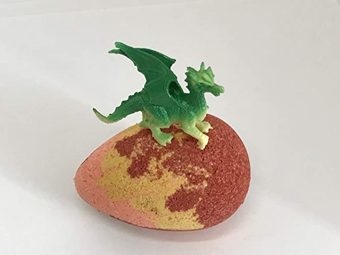 Amazon com: Dragon Fire Egg Bath Bomb Party Favor Wholesale