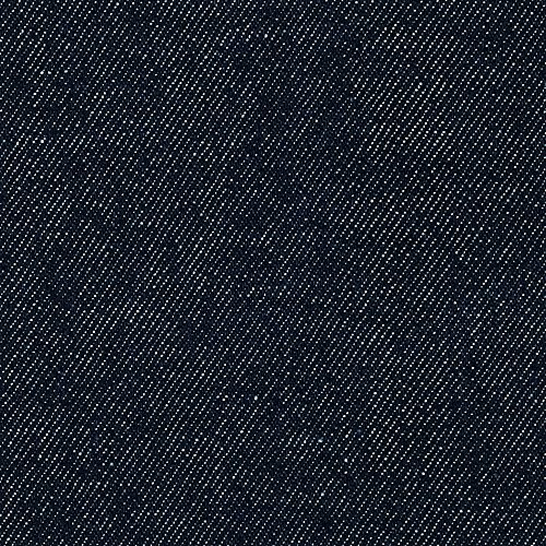 Carr Textile Indigo Denim 12 oz Dark Unwashed Fabric by The Yard,