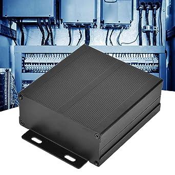 Caja de aluminio, Caja eléctrica industrial, Proyecto electrónico Caja de aluminio Caja de circuito Caja de enfriamiento Caja 40x97x100mm: Amazon.es: Industria, empresas y ciencia