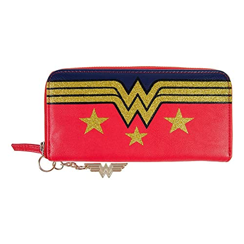 Monedero y billetera mujer Wonder Woman. logo. DC Comics ...