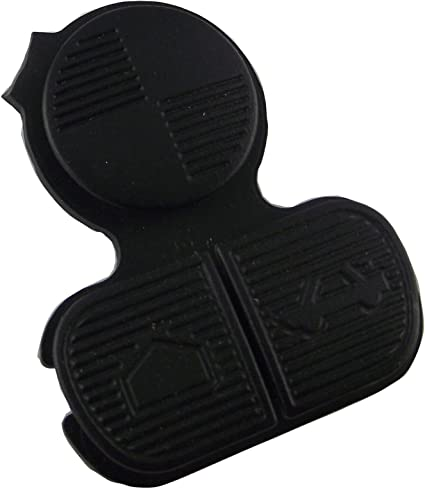 No Key, No chips KEMANI Remote Replacement Key 3 button Pad Rubber Fit For BMW 3 5 7 Series Fob