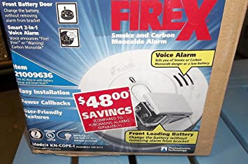 Pack 2 Inter-Connectable Battery-Operated Photo-Electric Smoke Detectors//Alarms