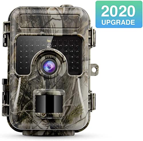 NBStyle New 2020 Trail Camera 16MP 1080p, IP66 Waterproof, Hunting Camera with Night Vision120 Wide Angle Lens and 2.4 LCD for Wildlife Monitoring, Hunting, Animal Scouting, Farm and Home Security
