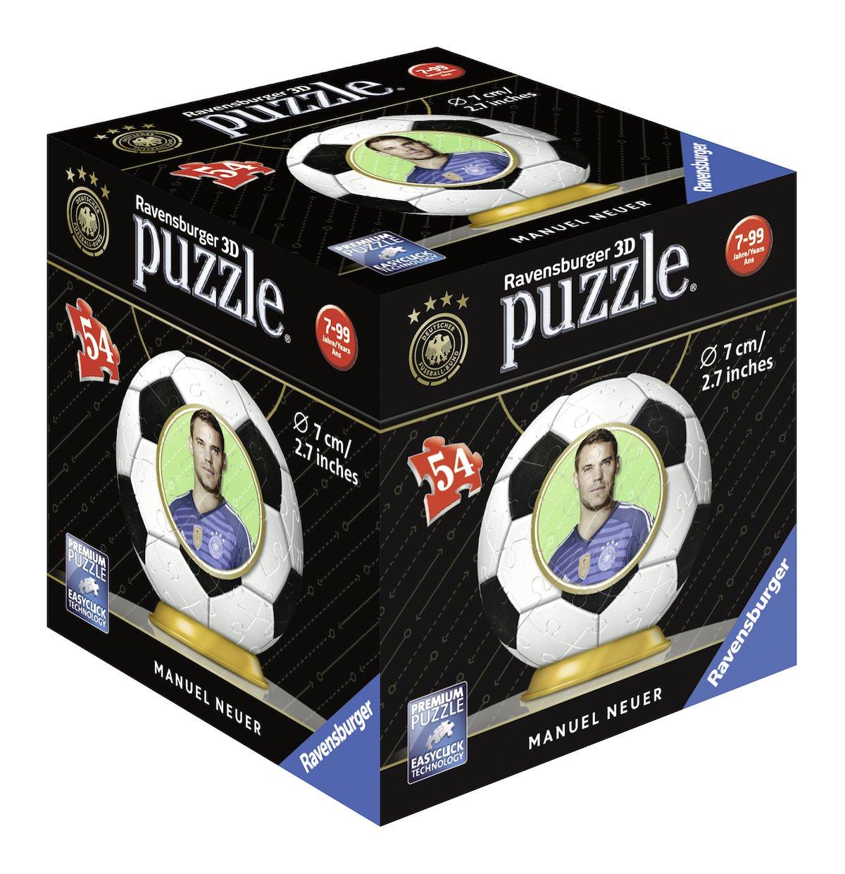 Ravensburger Erwachsenenpuzzle 11926 Manuel DFB Spieler 3D-Puzzle Ravensburger Spielverlag