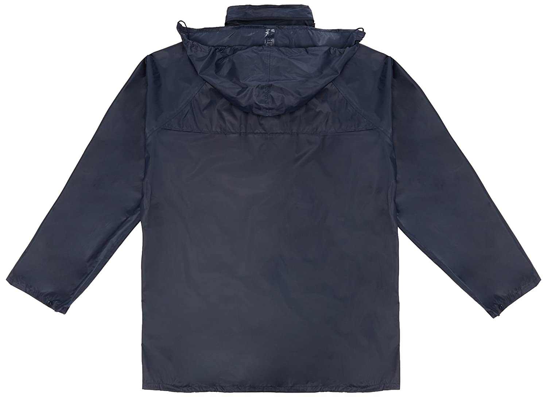 Set Prossor PROSUIT-NAVY Prosuit Jacket /& Trouser Foul Weather Suit Size Large Navy