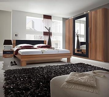 Dreams4Home Schlafzimmer Set \'Mika\' - Kleiderschrank, Schrank, 2 ...