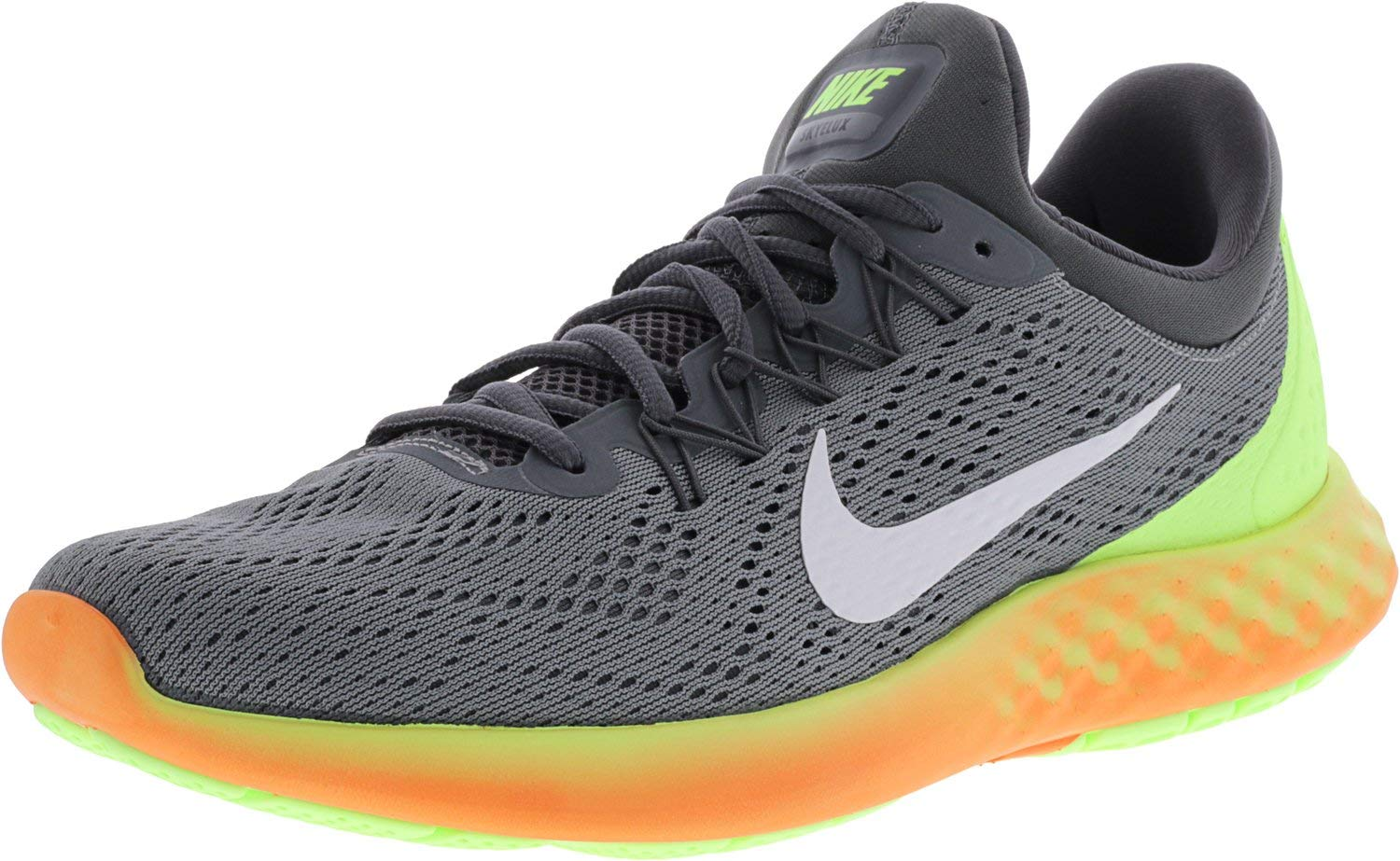 c466045a5969 Galleon - NIKE Mens Lunar Skyelux Fabric Low Top Lace Up Running Sneaker