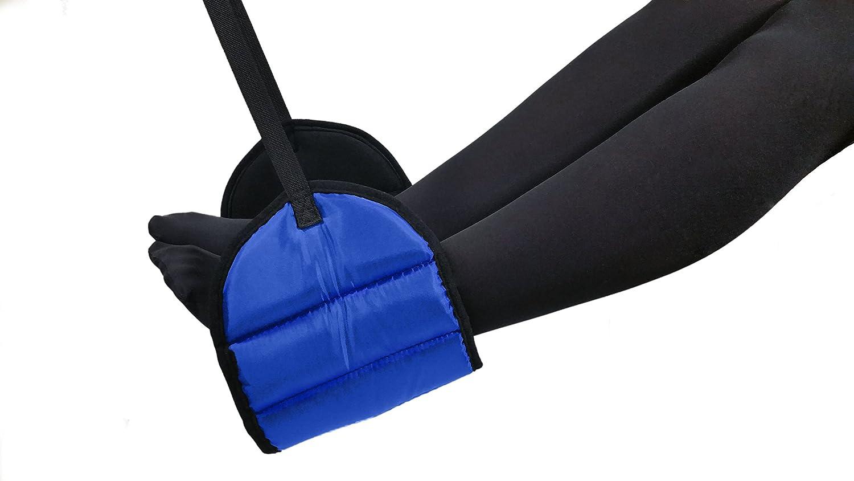 Sleepy Ride Flugzeugfu/ßst/ütze aus Premium Memory Foam K/önigsblau