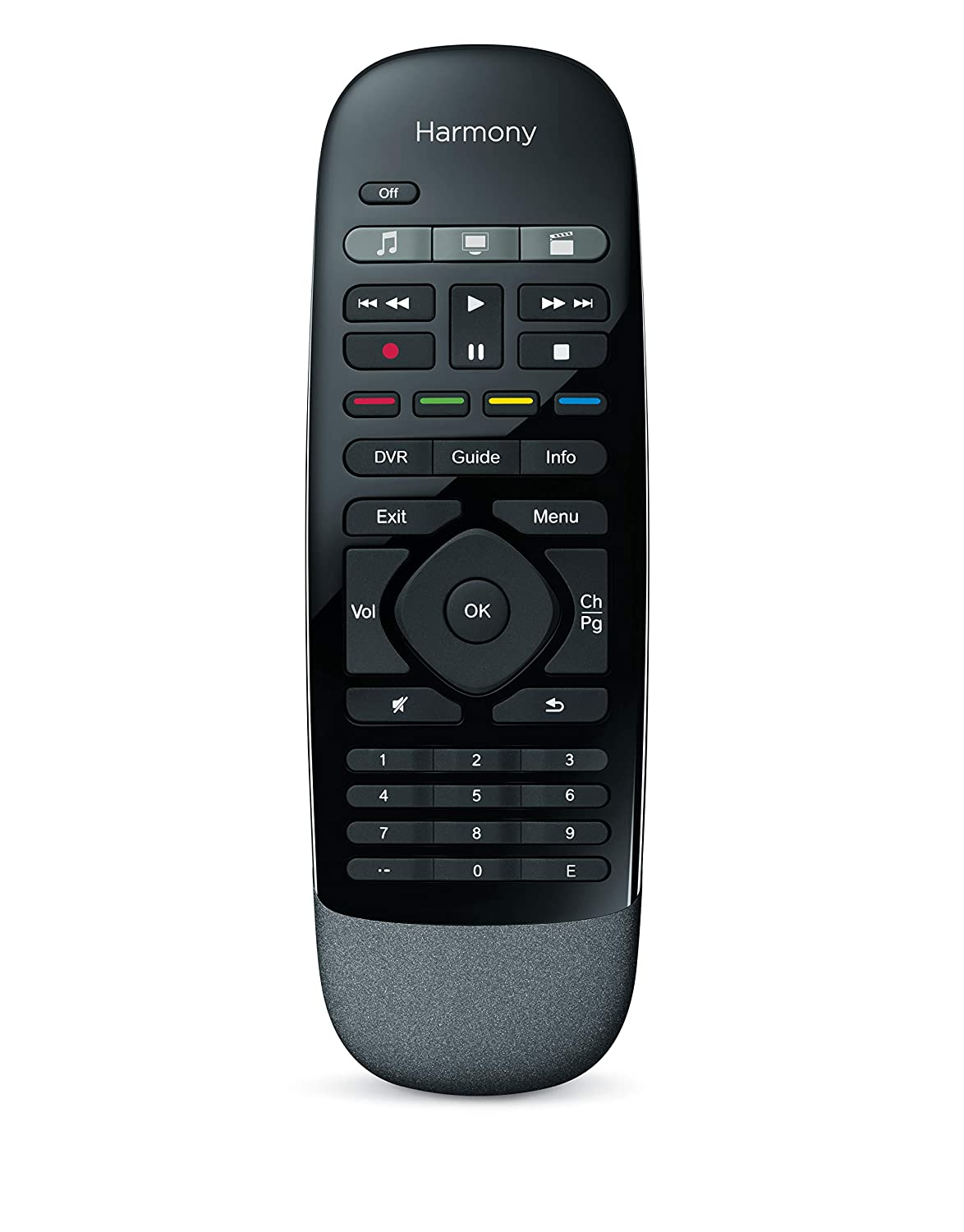 16793832aae Amazon.com: Logitech Harmony Smart Control with Smartphone App and Simple  All in One Remote - Black: Home Audio & Theater