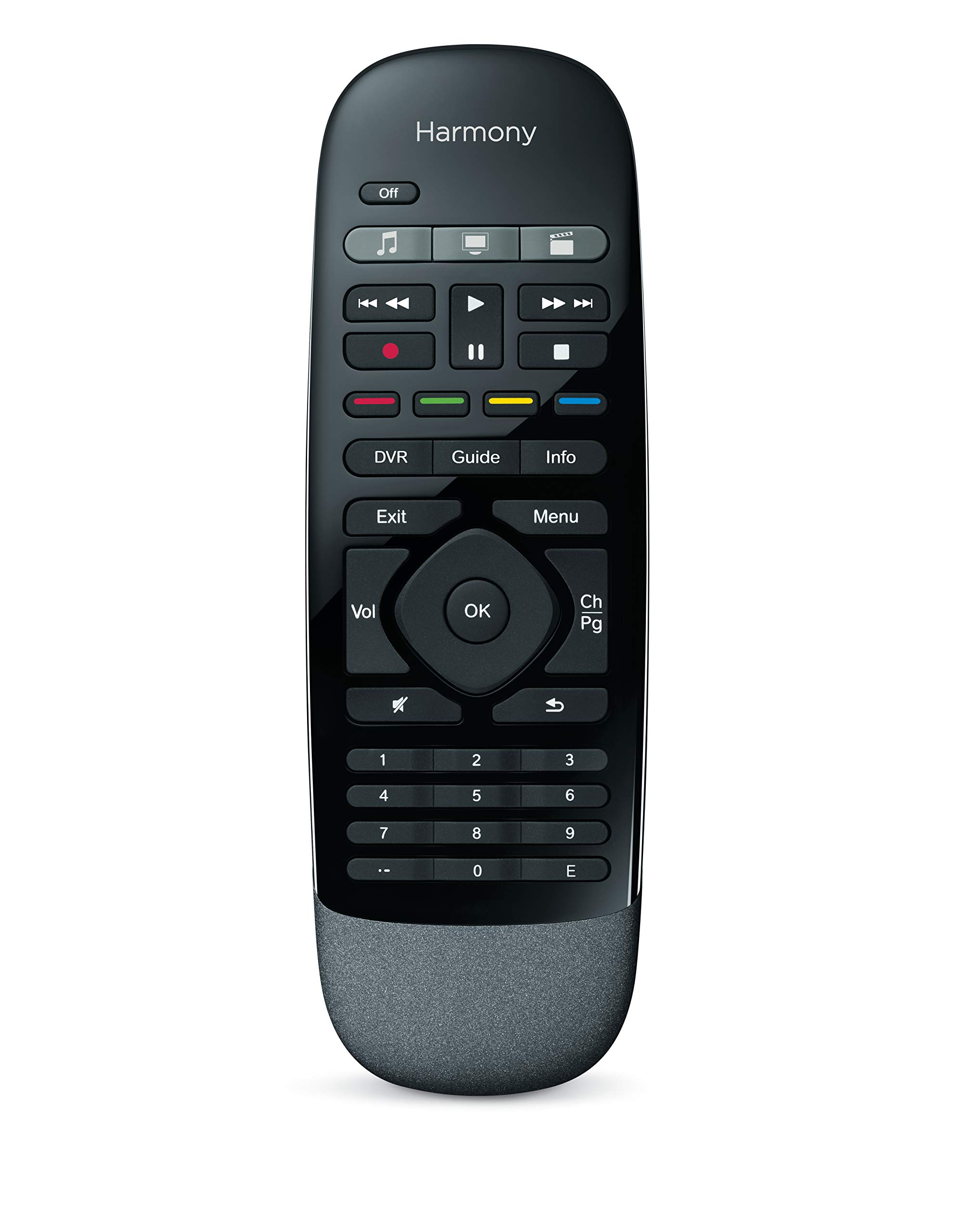 Logitech Harmony Smart Control with Smartphone App and Simple All in One Remote - Black by Logitech