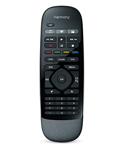 6bbd97918dc Amazon.com: Logitech Harmony Smart Control with Smartphone App and Simple  All in One Remote - Black: Home Audio & Theater