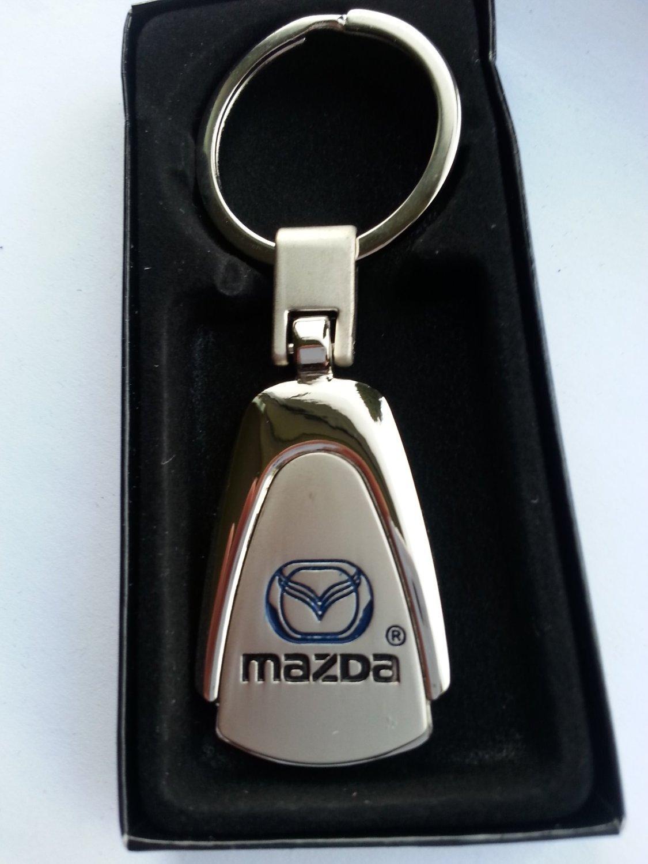 Llavero MAZDA de metal de alta calidad Caja Regalo Color ...