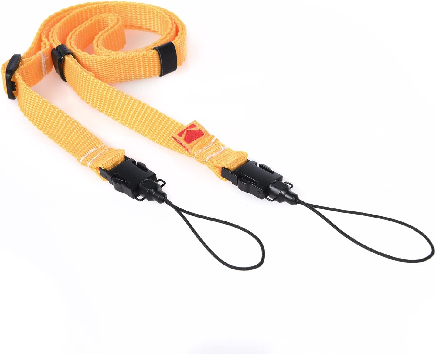 Kodak Printomatic Camera Neck Strap (Yellow) – Adjustable, Convenient, Practical – The Easiest Way to Capture Every Kodak Moment