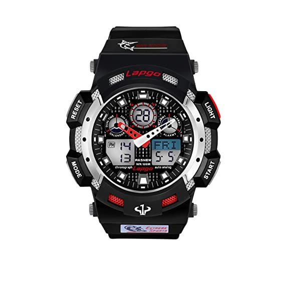 Relojes digitales para hombres, relojes deportivos de moda para adolescentes, reloj de buceo impermeable