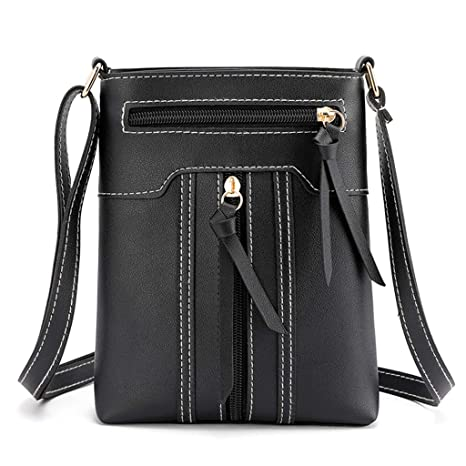 Fashion Ladies Faux Leather Cross Body Messenger Bag Women Shoulder Tote Satchel