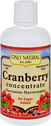 ONLY NATURAL Juice,Cranberry,OG2, 32 FZ