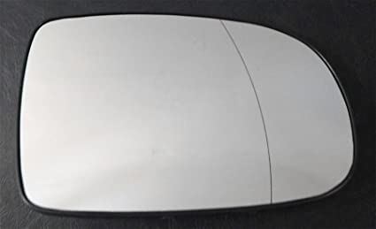 Driver right hand side Heated wing door Silver mirror glass with backing plate #W-SHY//R-SKAOA04 Clip On