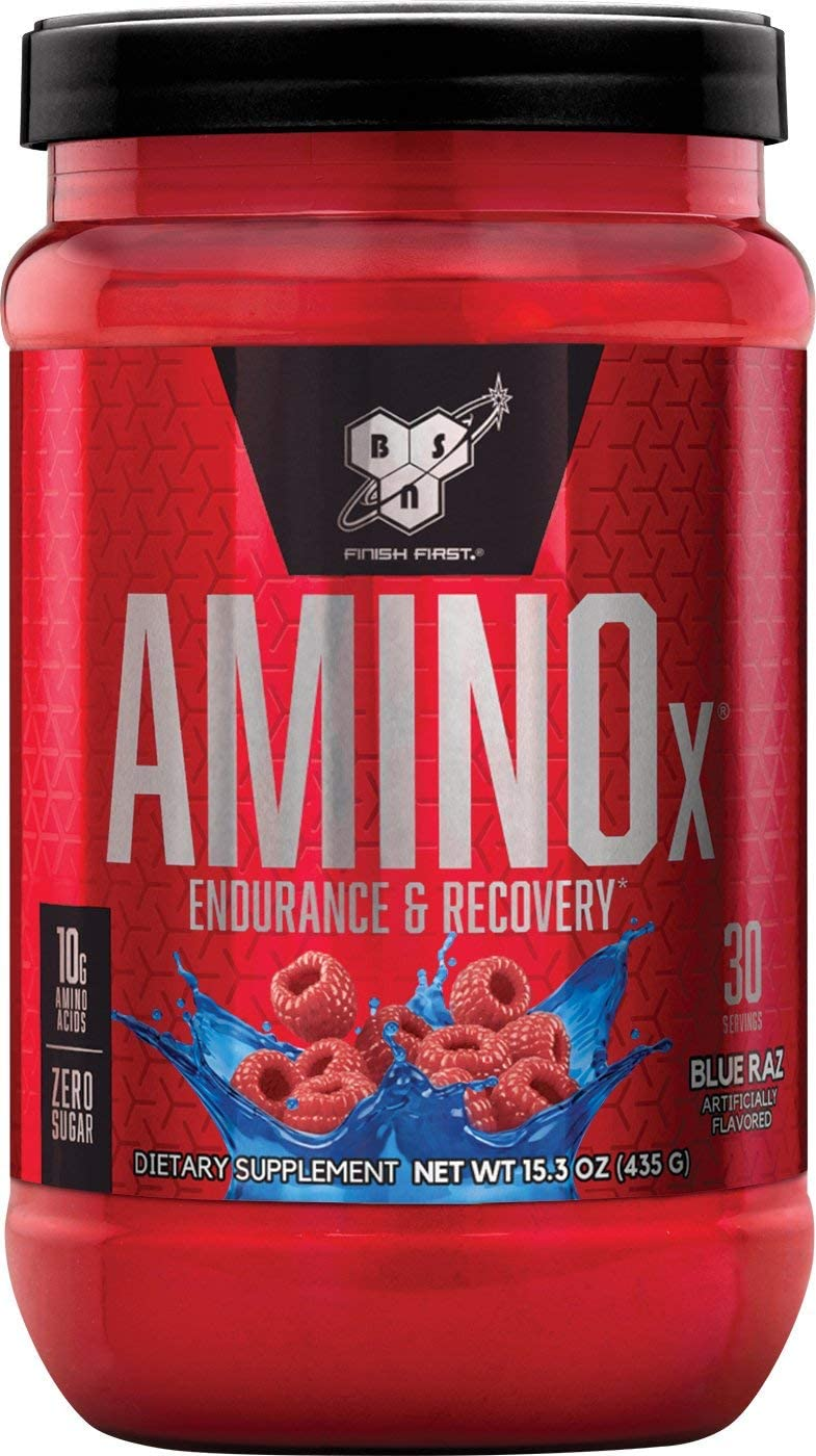 BSN Amino X Muscle Recovery & Endurance Powder with BCAA