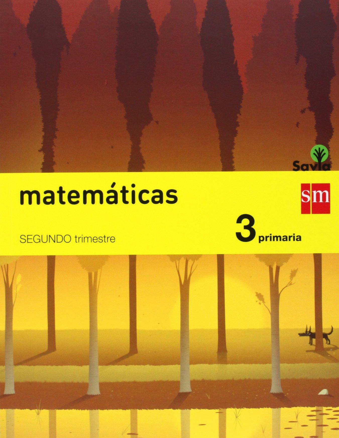 Matemáticas. 3 Primaria. Savia - Pack de 3 libros - 9788467569988 ...
