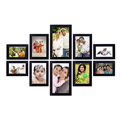 94c583e4ce5 Solimo Collage Photo Frames (Set of 10