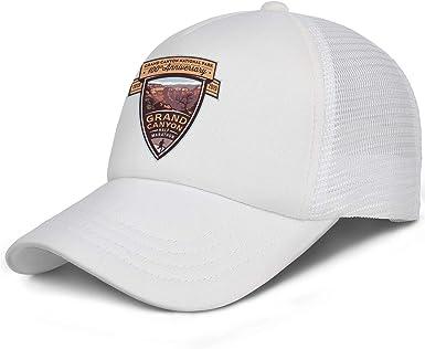 Yellowstone National Park Baseball Hat Mens Womens Adjustable Mesh Visor Flat Cap