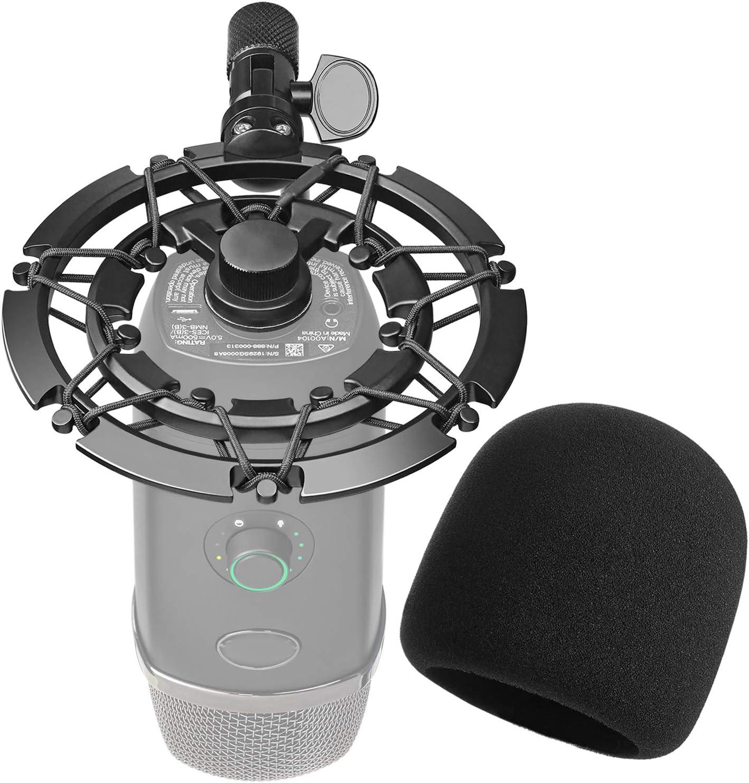 Shock Mount Con Antipop Para Microfono Blue Yeti X
