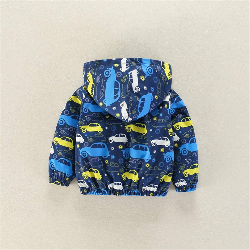 SERAIALDA Girls Comfort Bird Embroidery Full-Zip Hooded Jacket Hoodie Sweatshirt Outwear