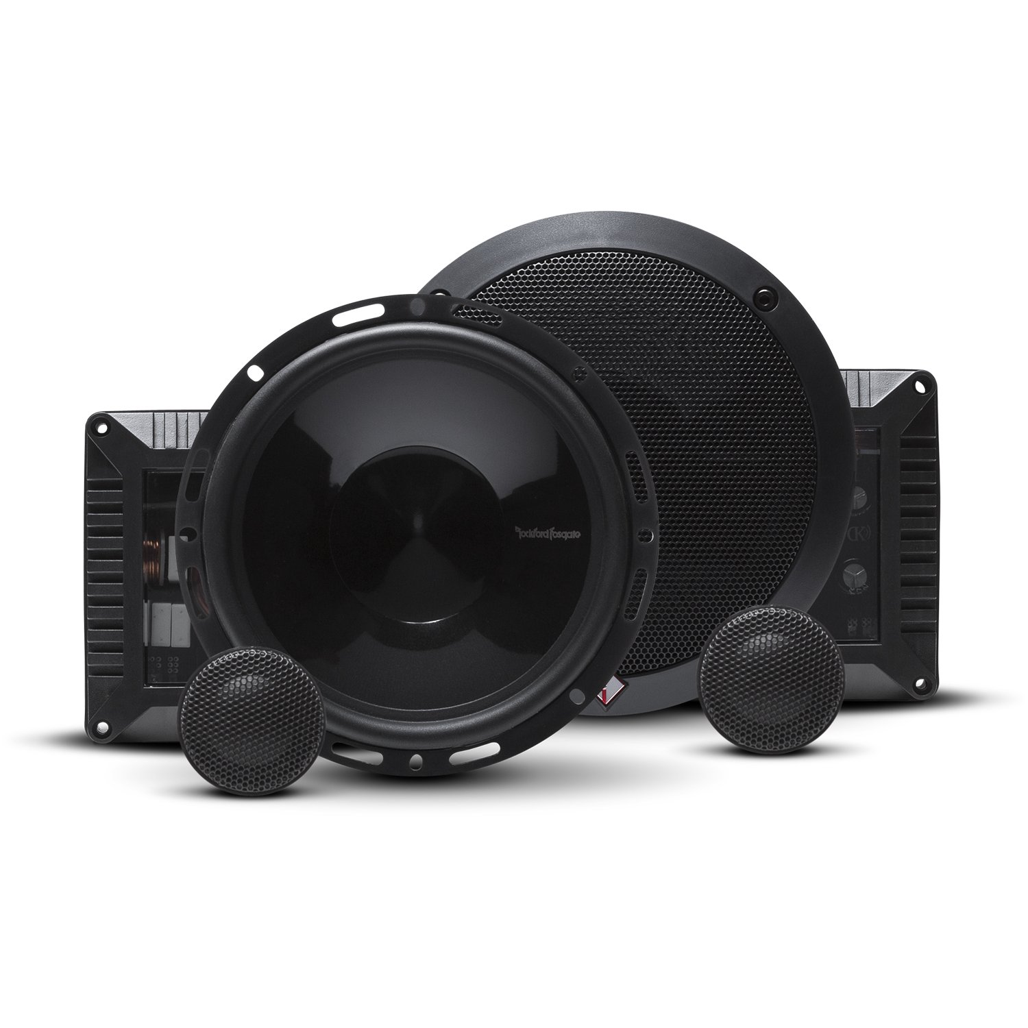 Rockford Fosgate T1650-S Power 2-Way 6-1/2'' Car Audio Component Speaker System