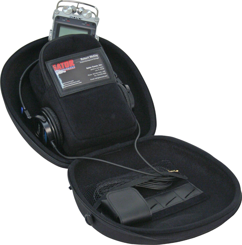 Gator Cases Micro Recorder Case for Micro Recorders  & Accessories (Black) by Gator