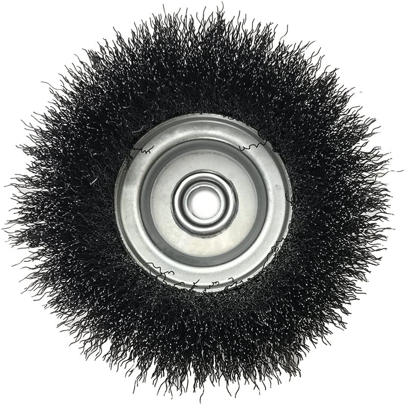 5//8-11, M10 x 1.25, M10 x 1.5 2-3//4 x for Angle Grinders Carbon Steel Mercer Industries 188010 Crimped Cup Brush