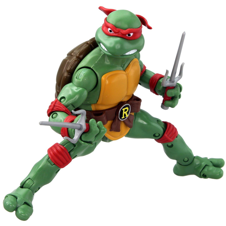 amazoncom teenage mutant ninja turtles classic collection raphael toys games - Tortue Ninja