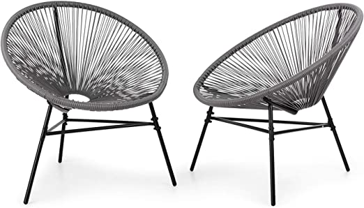 Sedie Da Esterno Design.Blumfeldt Las Brisas Sedie Da Giardino Set Di 2 Design Retro