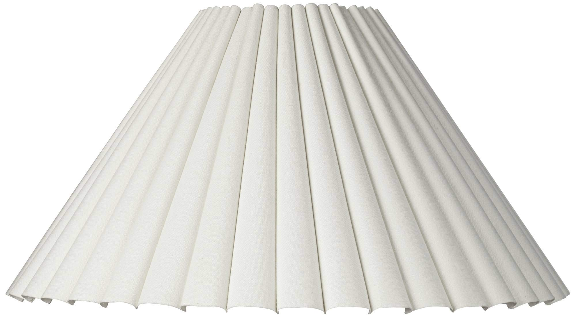 Box Pleat Lamp Shade 7x20.5x12.5 (Spider) - Brentwood