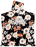 Roxy Pass This On Again Poncho Towel - Anthracite New Flowers