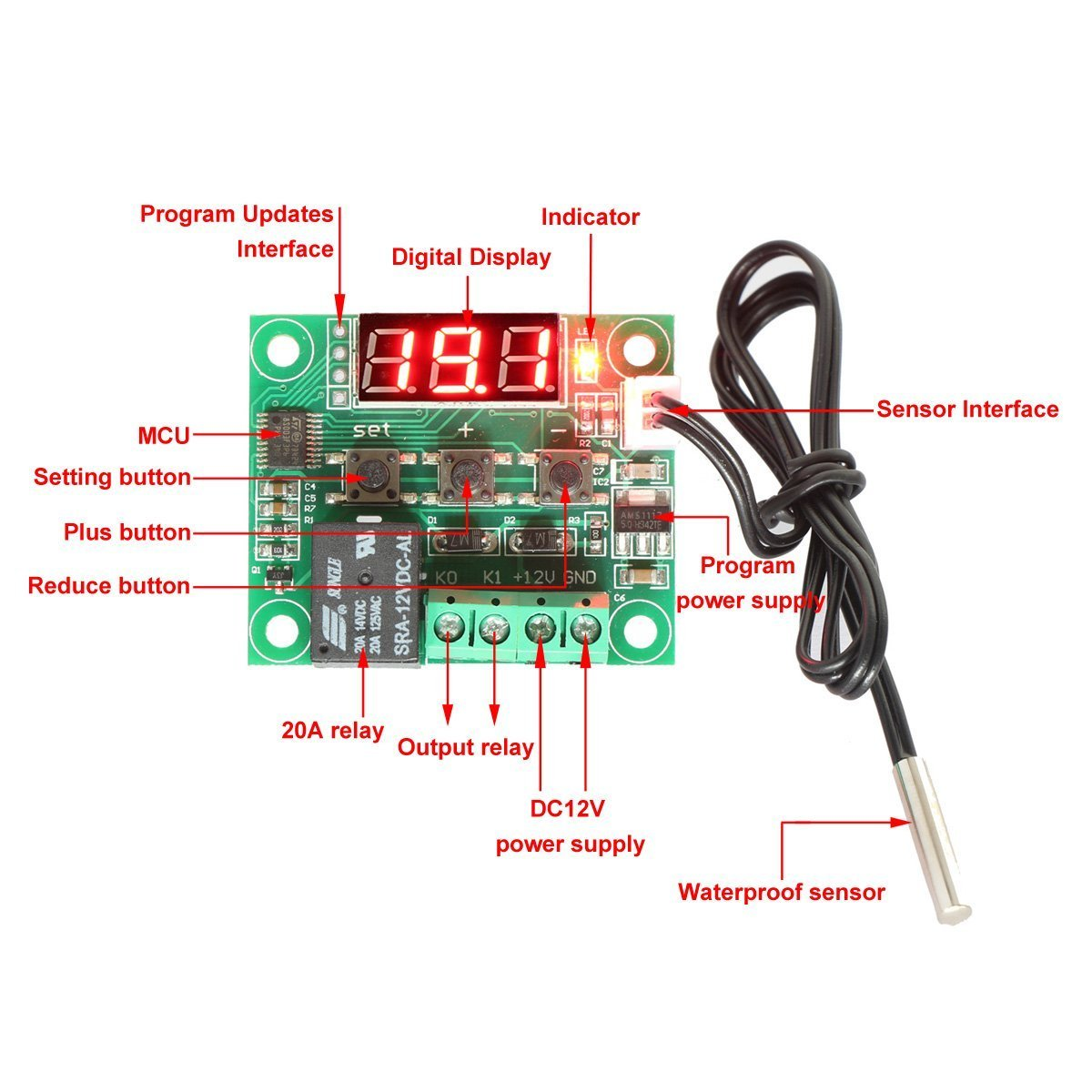 71n%2BQLxH0rL._SL1200_ riorand 12v dc digital cooling heating thermostat temp control 50  at n-0.co