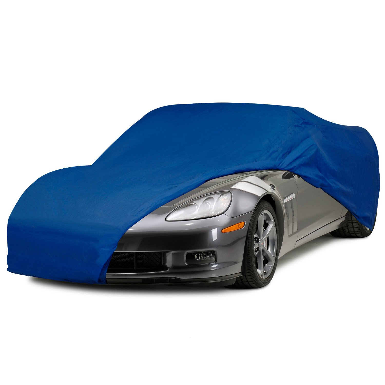 C6 Corvette Semi Custom Car Cover Blue Fits: All 2005 Through 2013 Corvettes MIDWEST CORVETTE 638-504
