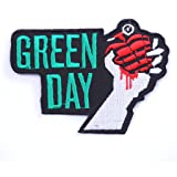 patch thermocollant patch green day ecusson brodé ecusson a coudre patch green day