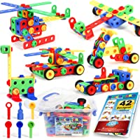 Building Blocks 101 Piece Stem Toys Kit, Educational Construction Engineering Building Blocks Learning Set For Ages 3 4…