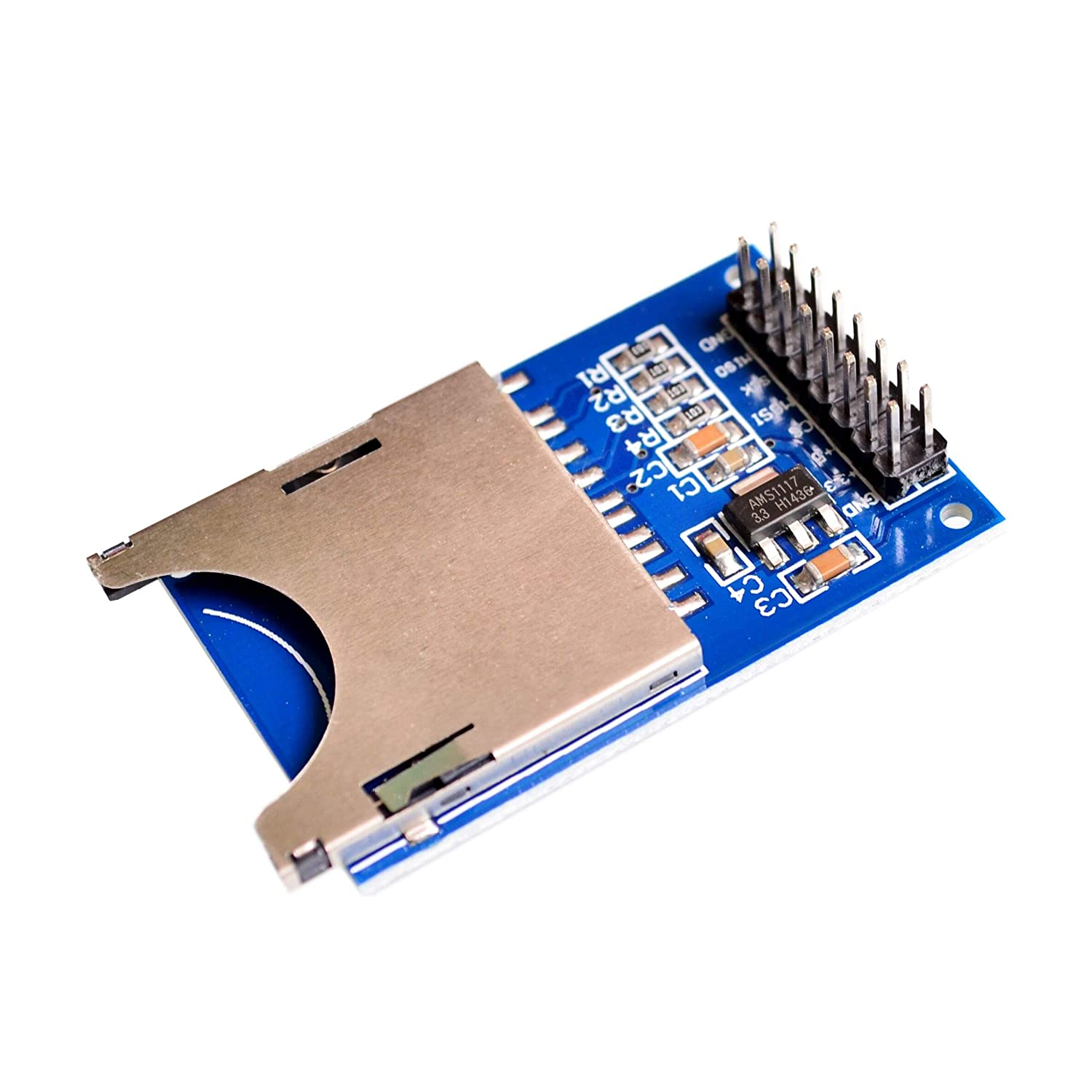 YOULITTY 10PCS//LOT Reading and Writing Module SD Card Module Slot Socket Reader ARM MCU