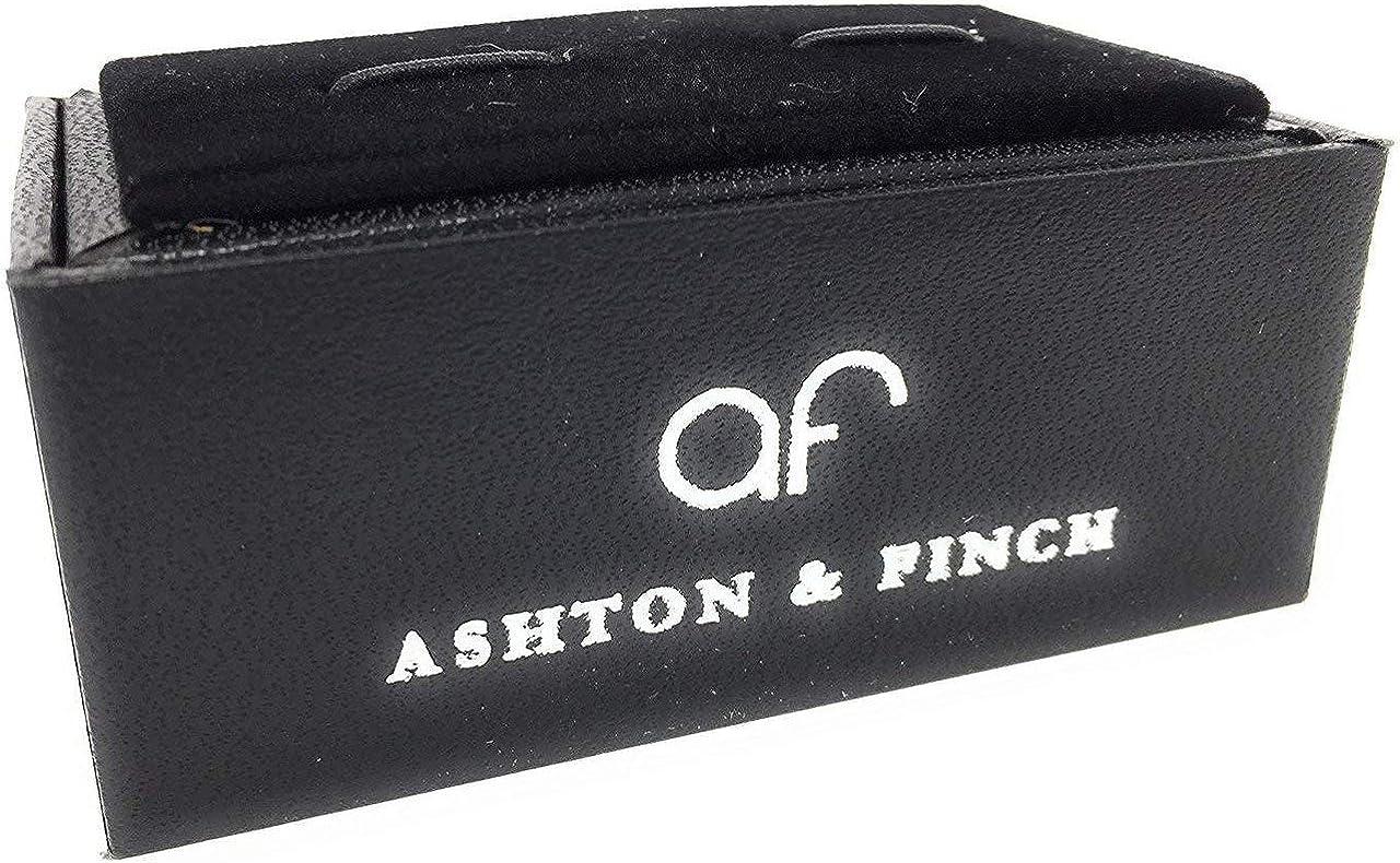 Ashton and Finch Boutons De Manchette Drapeau Alg/érie avec Coffret Cadeau