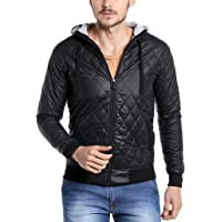 Campus Sutra Men's Polyester Jacket