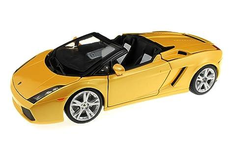 Bburago Lamborghini Gallardo Spyder Color Amarillo 18 12016