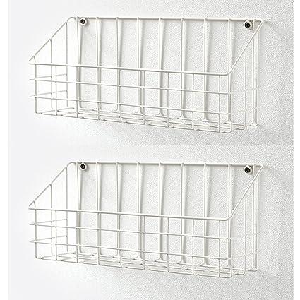 Amazon Com Dailylike Vintage Metal Wire Hanging Basket Wall